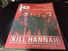 Illinois Entertainer Magazine/Paper -Dec 2015_Chicago's Kill Hannah on cover