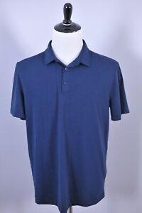 Lululemon Evolution Polo Shirt Navy Men's XL