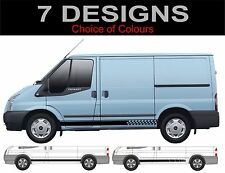 ford transit ford tourneo side stripes decals stickers 2 off