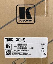 Kramer TBUS-3xl(B) Table Mount Modular Multi-Connection Solution/Black
