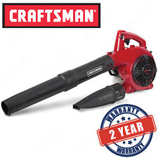 Craftsman 25CC Gas Powered Leaf Blower, 2-Cycle Handheld Lawn Garden Yard Tool