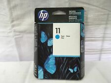 HP 11 DesignJet Cyan Ink Cartridge (2200/2250) ☆ C4836A ✅ NEW FACTORY SEALED ✔➔➨