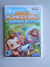 Super Monkey Ball: Banana Blitz Game New & Sealed! Nintendo Wii