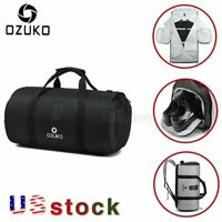 OZUKO Multifunction Large Capacity Travel Waterproof Gym Bag With Shoes Pouch