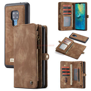 Leather Wallet Card Magnetic Detachable Phone Case Cover For Huawei Mate 20 Pro