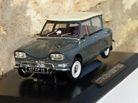 RARE : Citroen Ami 6 - 1964 - Gris Typhon     au 1/18 de NOREV AMC019066
