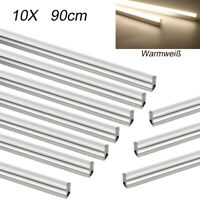 10X LED Tube Light 90cm T5 Integrated Retrofit Fluorescent Tube Lamp warm white