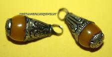 Nepal beads 2 Nepalese Beads Tibet Beads handmade beads Amber beads Yoga B118