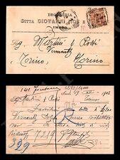 Imola - Ditta Giovanni Noe e Figli - drogheria 19.7.1902