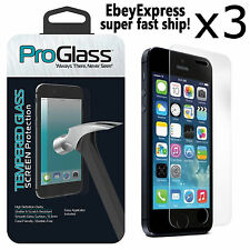 3 Ultra Thin Premium Real Tempered Glass Film Screen Protector for iPhone SE