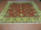 6.5' X 7' Vintage Hand Made Egypt Agra  Wool Rug Carpet Square Beauty