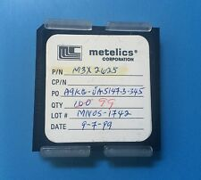 M3X2625 METELICS CAPACITOR CHIP RF MICROWAVE 99/units total