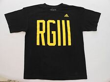Adidas RGIII THE GO-TO TEE Boy's size Large 14/16 Black T-shirt - VGUC!