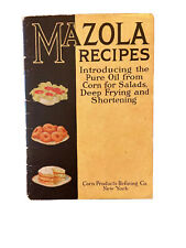 Mazola Recipes Introducing pure oil from corn - salads, deep frying & Shortening