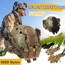 Tactical Helmet Cover Tactical Camo Pouch Bag Combat MK2 Airsoft Paintball  ~