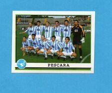 PANINI CALCIATORI 2001/2002- Figurina n.658- PESCARA - SQUADRA/TEAM -NEW