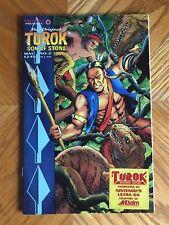 Original Turok Son of Stone 2 Promo N64 Nintendo Valiant Acclaim Sticker VF/NM