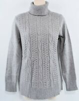 MOTIVE Women's Roll Neck Jumper, Heather Grey, size XL / UK 14
