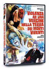 VIOLENZA AD UNA VERGINE NELLA TERRA DEI MORTI VIVENTI(1971)Jean Rollin DVD NUOVO