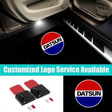2x LED Car Door DATSUN Lights Projector Welcome Shadow Lights for Nissan Datsun