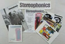 More details for stereophonics memorabilia rare window sticker a thousand trees 1997 promo flyers