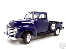 1953 CHEVROLET 3100 PICKUP TRUCK BLUE 1/18 DIECAST MODEL BY WELLY 19836