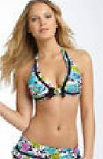 BETSEY JOHNSON Petal Pusher Bikini Swimsuit  NWT  S /XS