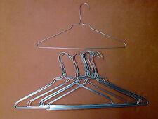 100  Drahtkleiderbügel-Drahtbügel-Kleiderbügel-verzinkt-ohne Einkerbung - 1,9 mm