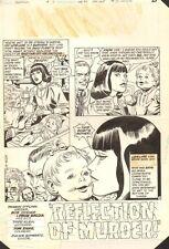 New Adventures of Supergirl #7 p.1 - Lois Lane Title Splash - 1983 by Bob Oksner Comic Art