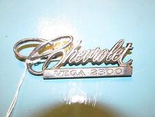 1971 1972 Chevrolet Vega 2300 Deck Lid Emblem #7 9870383