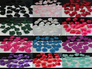12x Wedding Rose Petals Flower Artificial Table Confetti 100