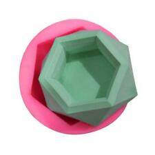 Diamond Shaped Silicone Mold Succulent Plant Flower Pot DIY Candle Holder Mould