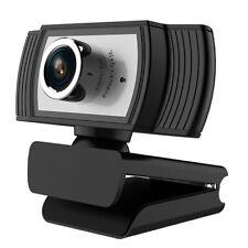 HD Webcam 1080P with Microphone PC Laptop Desktop Android TV USB Webcams Clip
