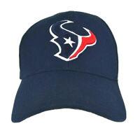 Houston Texans NFL Reebok Team Apparel Navy Blue Adjustable Strapback Hat Cap
