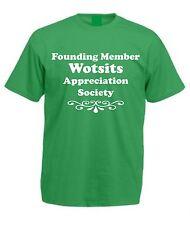 WOTSITS APPRECIATION SOCIETY T-SHIRT Christmas Birthday Gift Present Idea Crisps