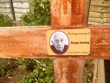 Personalised Photo Memorial tribute Bereavement Grave Marker Plaque 53x84mm.