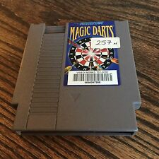 Magic Darts Original Nintendo NES Game Cart PC5
