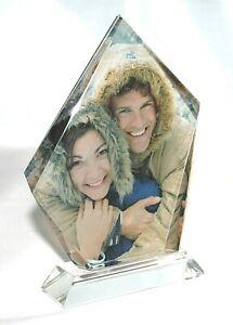 Personalised Iceberg Photo Crystal