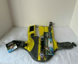 Canada Pooch Wave Rider Yellow Super-Float Dog Life Vest Size XS *NEW*