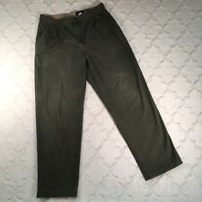 EDDIE BAUER Men's Wrinkle Resistant Relaxed Fit PLEATED FRONT Chinos 36x34