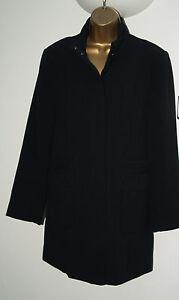 New Ladies BonMarche Black Winter Autumn Smart Jacket RRP £45 Size 10 - 24