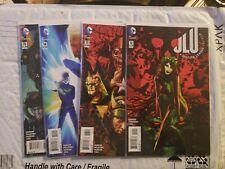 DC Comics JLU: JUSTICE LEAGUE UNITED #12-15 lot 4 books 1st print