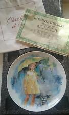 "NEW LIMOGES-TURGOT COLLECTOR PLATE ""CHRISTIANE ET FIFI"" CERTIFICATE IN BOX NIB"