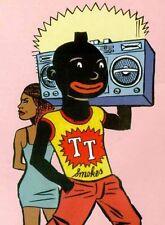 PASTICHE. Carte postale TINTIN - Le frère africain de Tintin. Tirage limité 2017