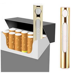 USB Rechargeable Cigarette Lighter Mini Portble USB Port Electronic Windproof