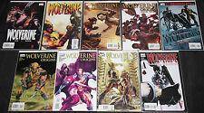Modern Marvel WOLVERINE TITLES 9pc Mid-High Grade Comic Lot VF-NM Origins X-Men
