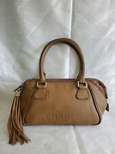 pre-owned authentic CHANEL small LAX tassel bag retail $2850