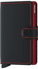 Secrid - Miniwallet Matte - schwarz/rot - NEU & OVP ( C-Black )