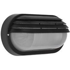 Außenwandleuchte  Außenlampe Wandlampe mit Gitter schwarz IP44 210mm Triartis