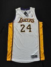 KOBE BRYANT #24 Los Angeles Lakers Pro Cut REV30 Authentic Jersey White 2XL+2
